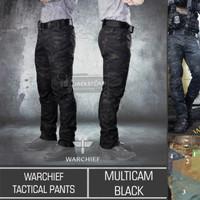 Warchief Tactical Pants Multicam Black