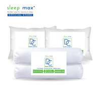Paket 2 Bantal Guling | Sleep Max Double Complete