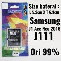 Baterai Original 99% Samsung Galaxy J1 Ace Neo 2016 J111 J111F Batre