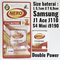 Baterai Double Power Samsung Galaxy J1 Ace J110 - S4 Mini i9190 Batre