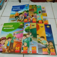 Buku Teks Tematik Terpadu Untuk SD kelas VI ( Paket 6a s/d 6i )