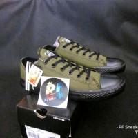 Sepatu Converse All Star Chuck Taylor II OX Green Army Black