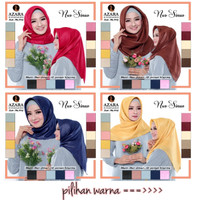 Jilbab Segi Empat Sinar Glamour Kerudung Shinar Shimmer