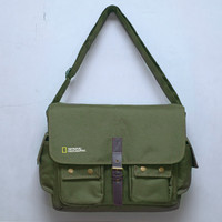 Tas Kamera NATIONAL GEOGRAPHIC / NG / NATGEO -- GREEN