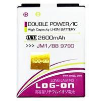 Log On Battery Baterai Double Power BLACKBERRY JM1 9790