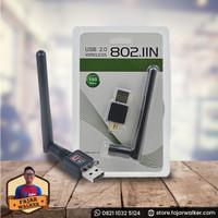 USB Wifi Wireless 802.11n Antena Kualitas Bagus Harga Murah