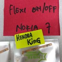flexible on/off Nokia 7 / flexibel on off volume nokia 7 TA1041