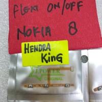 flexible on/off Nokia 8 / flexibel on off volume nokia 8 TA1004