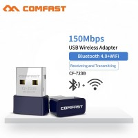 2in1 usb wifi and bluetooth receiver dongle combo wireless adapter