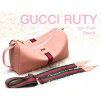 READY STOCK TAS GUCCI SLEMPANG NYLON RUTY HANDBAG GUCCI SUPER KULIT