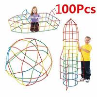 Mainan edukasi kreatifitas anak / mainan bangunan 4 dimensi anak