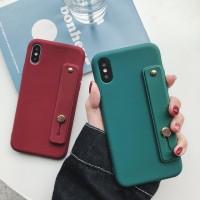 HWC iPhone X XS Max 6 6s 7 8 Plus XR Retro Dark Green Soft Case