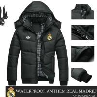Termurah - Jaket Bola Cewek Cowok Real Madrid | Jaket Musim Dingin |