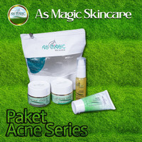 PAKET ACNE SERIES AS MAGIC SKINCARE