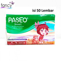 Tissue Paseo 50 sheets 2 Ply Tisu Serbaguna Facial