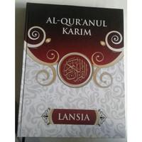 Al-Quranul Karim Lansia Mushaf Tanpa Terjemah Jumbo
