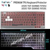 Keyboard Protector ASUS TUF Gaming FX505 - KAKAY Premium TPU Clear