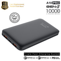Powerbank Acmic A10 Pro 10000mAh Quick Charge 3.0 & Power Delivery