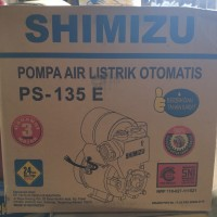 SHIMIZU POMPA AIR LISTRIK OTOMATIS PS 135 E