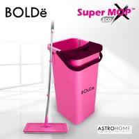 Alat Pel Lantai Super Mop BOLDe X Eco Fuchsia