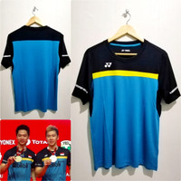 Jersey Bulutangkis Baju Badminton Minion Yonex Tosca Grade Ori Import