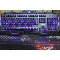 Keyboard + Mouse Gaming Multimedia USB Wired MARVO KM400