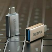 REMAX OTG Connector Plug Type C to USB / Adapter Konektor