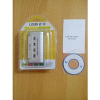 Auto Switch Printer 4 Port USB Auto Sharing Switch Printer
