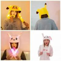 Buny Hat topi kelinci LED gerak