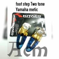 foot step Belakang Two Tone semua Yamaha metic