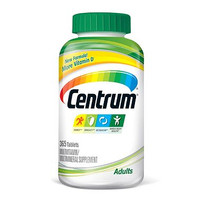 Centrum Regular adults under 50, 365 tablets.