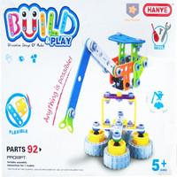 PUZZLE BUILD & PLAY TOWER CRANE | MAINAN PUZZLE MENARA KONSTRUKSI