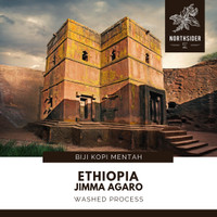 BIJI KOPI ARABIKA ETHIOPIA JIMMA AGARO WASHED - BIJI MENTAH