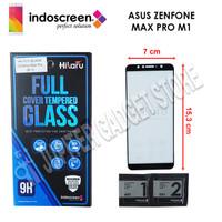 Asus Zenfone Max Pro M1 ZB602KL Hikaru Tempered Glass Full Cover - ORI