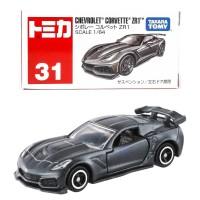 Tomica Reguler 31 Chevrolet Corvette ZR1 Dark Grey