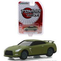 Greenlight 1/64 2015 Nissan GTR R35 Matte Green Tokyo Torque 5