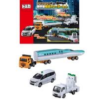 Tomica Gift Set Transport Trailer