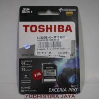 Toshiba SDHC N401 Exceria Pro 32GB 4K (Resmi) 100% Original