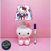 Lampu Tidur Tudung MH 9052 karakter Hello Kitty Pink