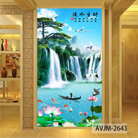 Wallpaper Custom Air Terjun - Wallpaper Pemandangan Alam