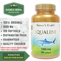 Nature's Health Squalene 100 Softgel 1000 Mg