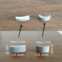Segmen Mata Coring - Diamond Segment 24x4,0x10 mm