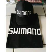 TOPI +KAOS MANCING SHIMANO-KAOS KATUN KOMBET MANCING MANIA SHIMANO