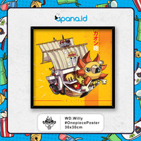 Poster ONEPIECE Chibi - Onepiece Thousand Sunny