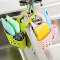 Keranjang Gantung Portable untuk Wastafel Bak Cuci Piring