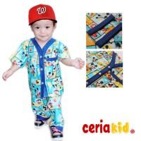 Baju Tidur Anak Katun Premium (setara Jepang) motif cowok