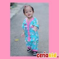 Baju Tidur Anak 12345 tahun motif Hello Kitty