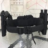 'Trojan Horse' Warbelt Patrol Belt - Black