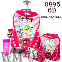 Troli Ransel 0895 Tsum Tsum 6D 4 IN 1 - 0895