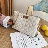 tas wanita import beige korea batam murah 84418 shoulder bag